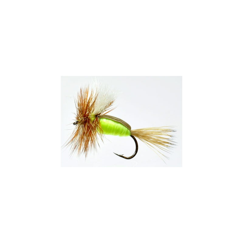 Humpy Chartreuse Hook #10