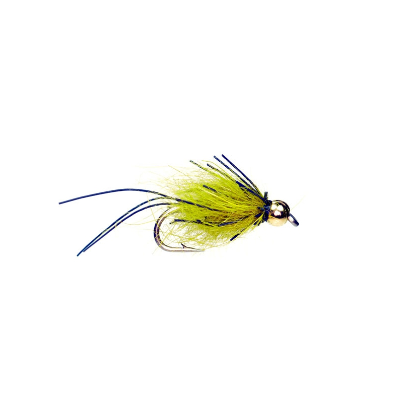 Rubber Greyling Special Hook #16 green