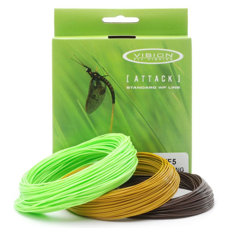 Vision Attack Fly line Floating