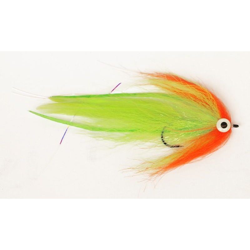 Hechtstreamer Bauer Deveiver Red & Chartreuse