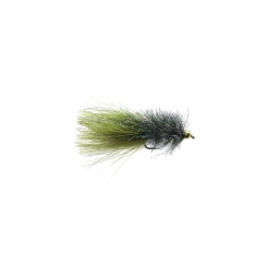Coffeys Sparkle Minnow- Peacock Hakengröße 6