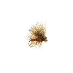Elk Hair Caddis Orange Haken 12