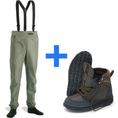 Vision Set Waders  Ikon Guiding and Keeper wading shoe...