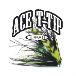 Vision ACE Tapered Tips Level Tungsten T17 - tip 15ft -...