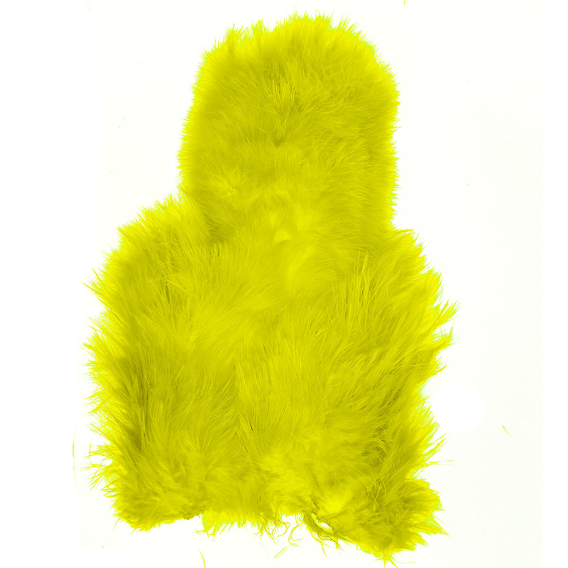 Whiting Soft Hackle Chickabou Fluo Yello Chartreuse