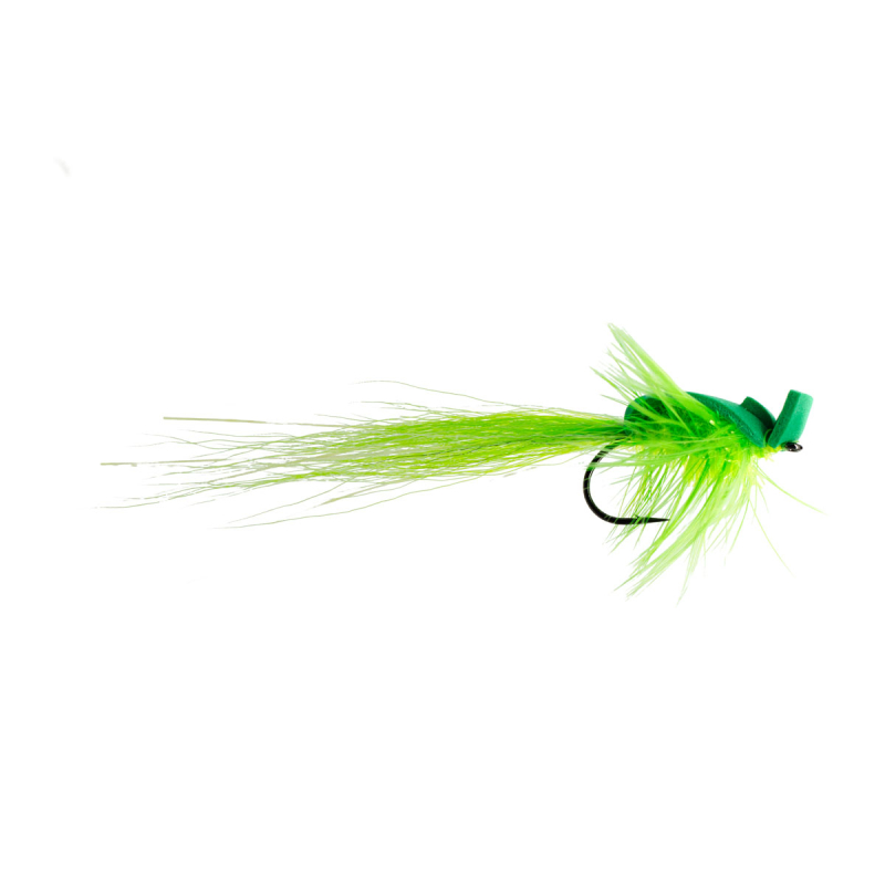 Barsch Rapfen Streamer Green