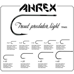 Ahrex TP605 - Trout Predator Light Haken